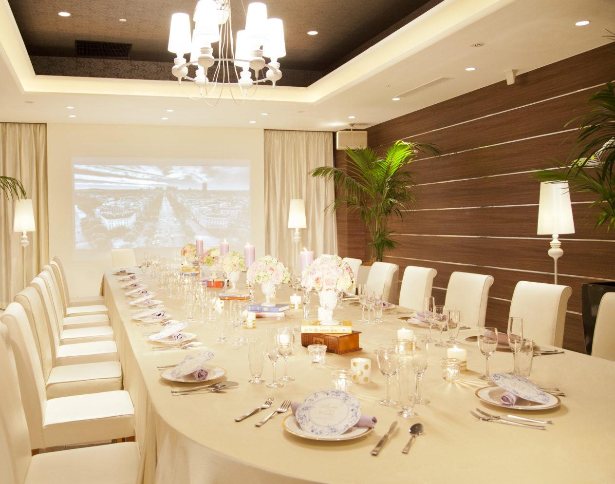 【家族婚・少人数婚】実際の会場で食べれる試食フェア